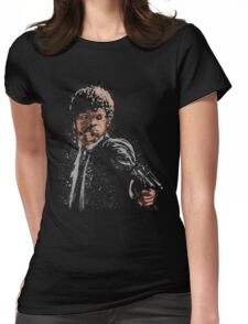 the path of the righteous man Womens Fitted T-Shirt