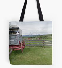 Western Beauty, Bar U Ranch Tote Bag