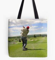 Golf Swing J Tote Bag