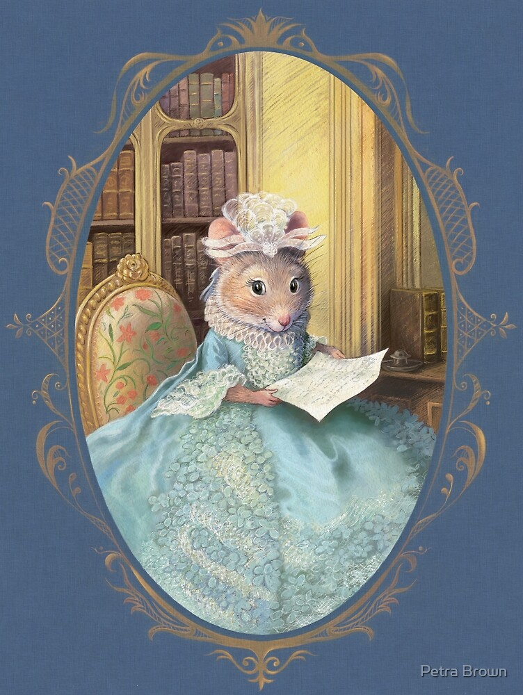 Madame Souris - an elegant mouse by Petra Brown