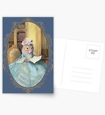 Madame Souris - an elegant mouse Postcards