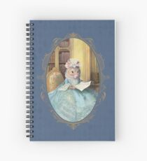 Madame Souris - an elegant mouse Spiral Notebook