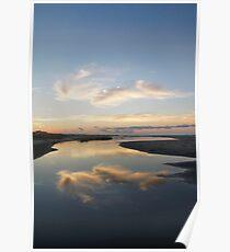 Sunrise over Tidal Pool Poster