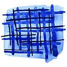 Blue Plaid by LIMEZINNIASDES