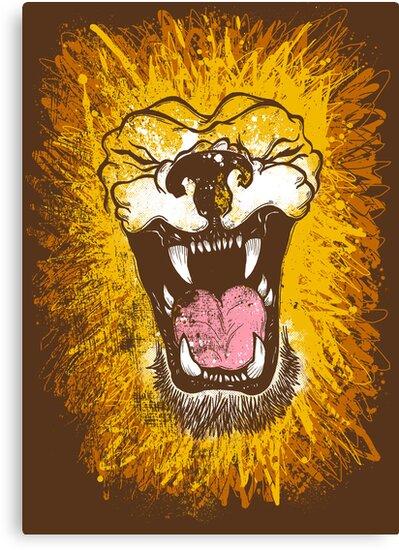 Lion by AtomicChild