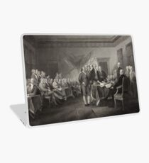 Signing the Declaration of Independence Laptop Skin
