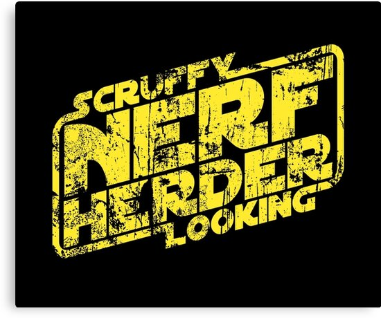 Scruffy Looking Nerf Herder by synaptyx