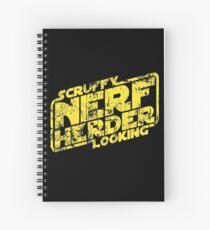Scruffy Looking Nerf Herder Spiral Notebook