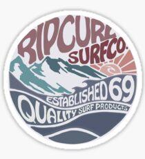 Rip curl surf vintage Sticker