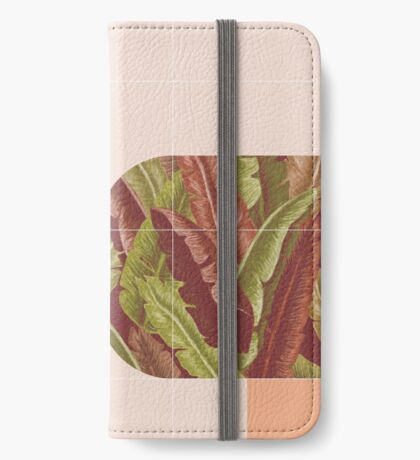 Mid-Century Tropical Mood #redbubble #tropical iPhone Wallet