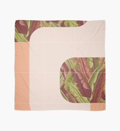 Mid-Century Tropical Mood #redbubble #tropical Scarf