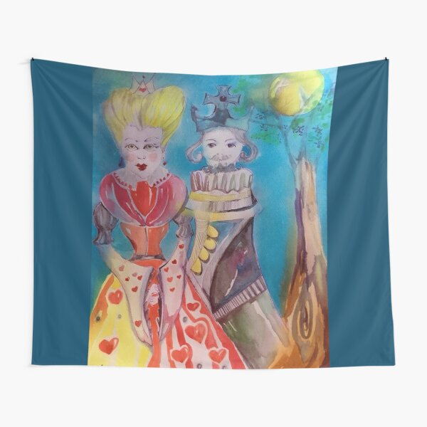 Re e Regina - King and Queen Tapestry