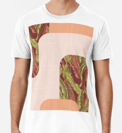 Mid-Century Tropical Style #redbubble #tropical Premium T-Shirt