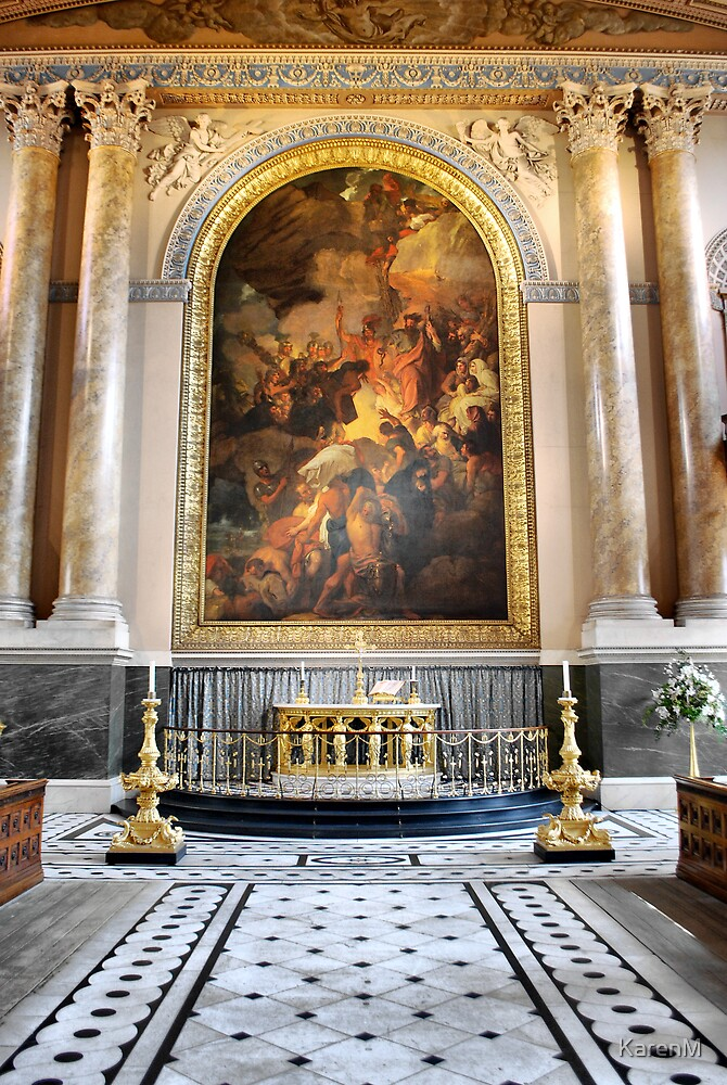 Altar in the Chapel by KarenM