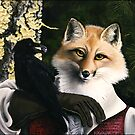 The Fox and the Cheese - Aesop's Fable by ferinefire
