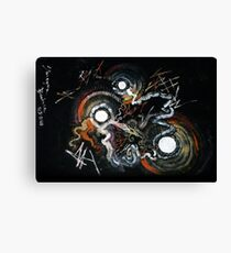 dawning abstract Canvas Print