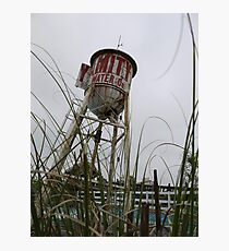 Random Water Tower  Photographic Print