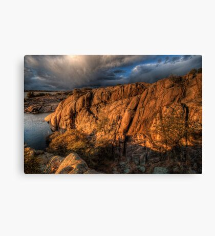 Up on the Big Rocks Canvas Print