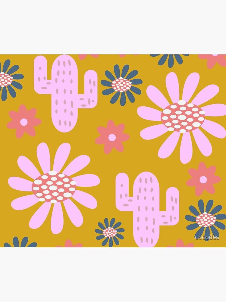 Nursery cactus decor by cocodes