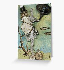 Esme the Equestrienne Greeting Card