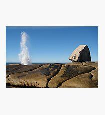 Bicheno Blowhole Photographic Print