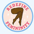 Redefine Femininity - The Peach Fuzz by Elizabeth Hudy
