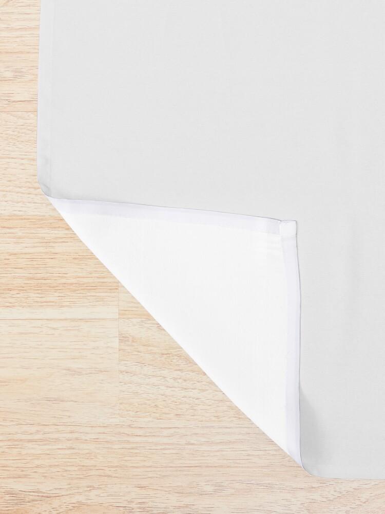 Alternate view of Treble Clef Symbol Shower Curtain