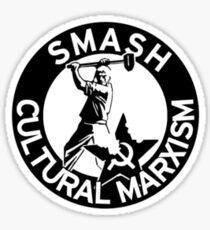 Smash Cultural Marxism Sticker