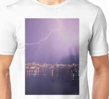 Stormy night ~ City by the Bay Unisex T-Shirt