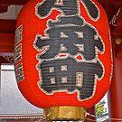 Lantern at the Asakusa Kannon Gate, Tokyo, Japan by johnrf