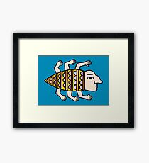 It lives in my brain Framed Print