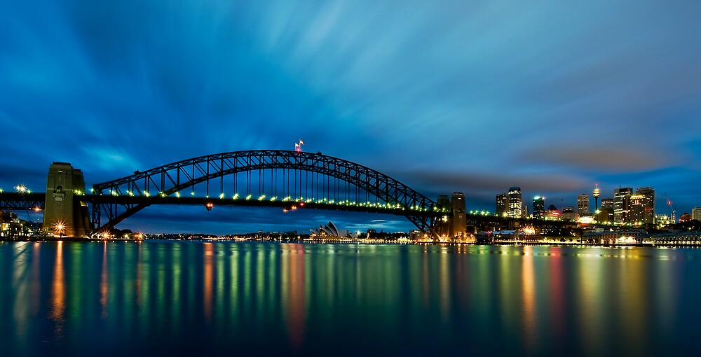 Opera House, Bridge, Tower.....must be Sydney! by Jason Ruth
