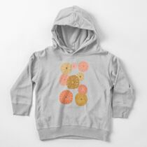 Sea Urchins in Gold + Coral Toddler Pullover Hoodie