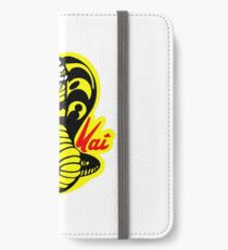 der Karatekind-Kobra-Kai-Logo iphone Fall iPhone Flip-Case/Hülle/Klebefolie
