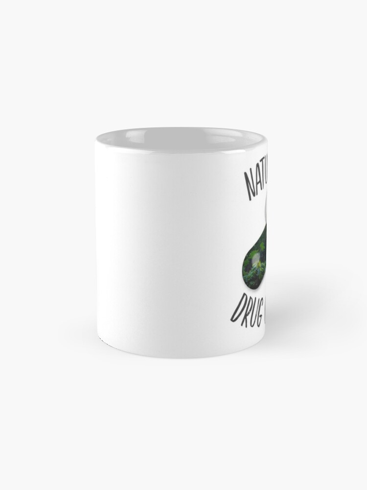 Alternate view of Nature is my Drug - Falls Mug