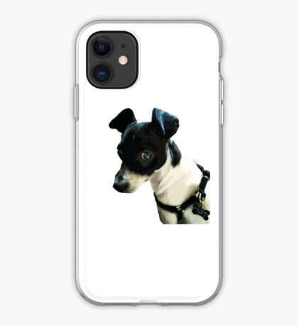 Carl the Rat Terrier iPhone Case