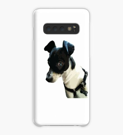 Carl the Rat Terrier Case/Skin for Samsung Galaxy
