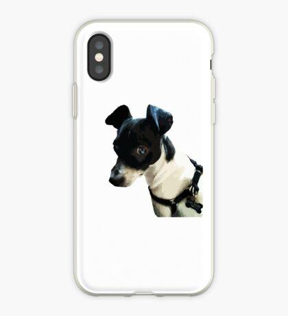 Carl the Rat Terrier iPhone Case