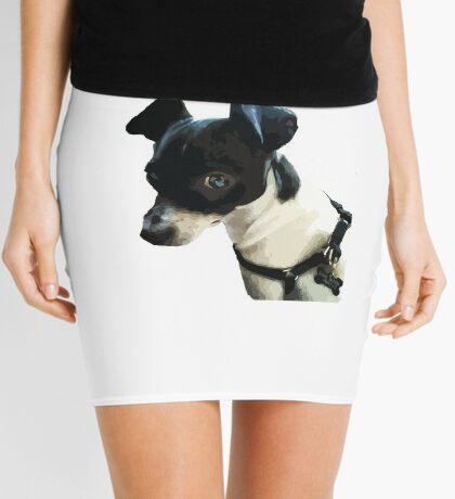 Carl the Rat Terrier Mini Skirt