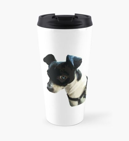 Carl the Rat Terrier Travel Mug