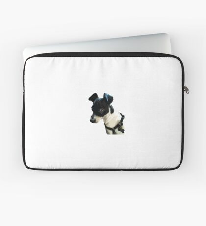 Carl the Rat Terrier Laptop Sleeve