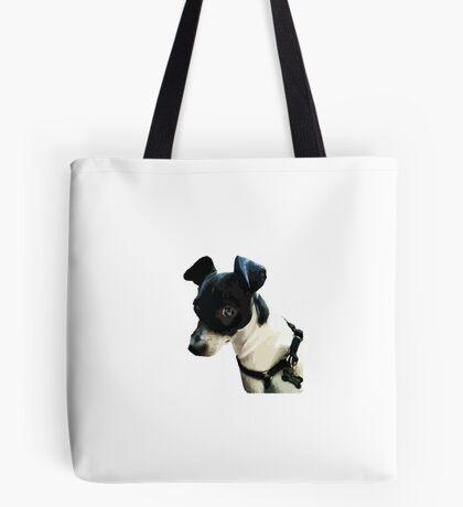 Carl the Rat Terrier Tote Bag