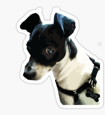 Carl the Rat Terrier Sticker