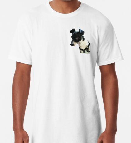 Carl the Rat Terrier Long T-Shirt
