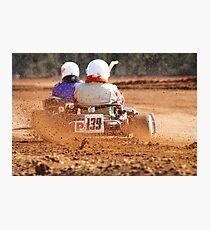 GO Karting Photographic Print