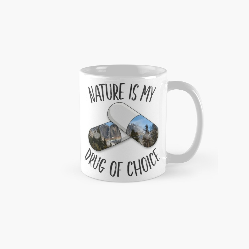Nature is my Drug - Rainbow Mug