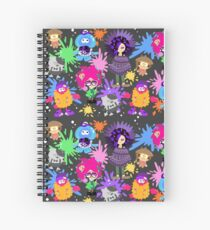 Splatoon NPC Spiral Notebook