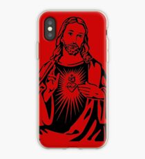 Sacred Heart Of Jesus iPhone Case