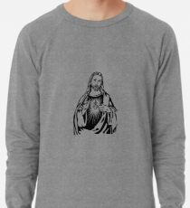 Sacred Heart Of Jesus Lightweight Sweatshirt