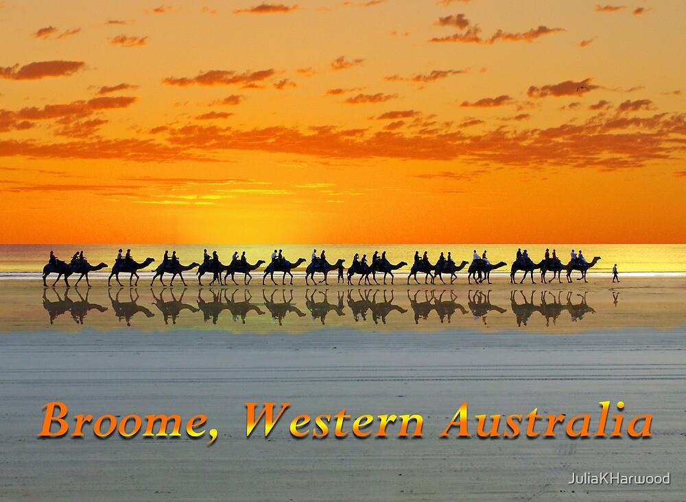 Broome, Western Australia, postcard by Julia Harwood